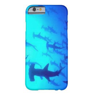 Caso do iPhone 6 do tubarão Capa Barely There Para iPhone 6