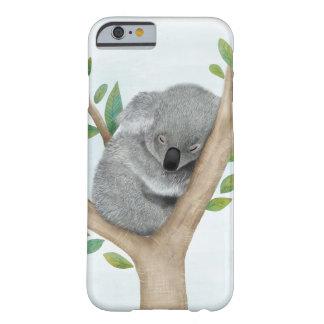 Caso do iPhone 6 do urso de Koala do sono Capa Barely There Para iPhone 6