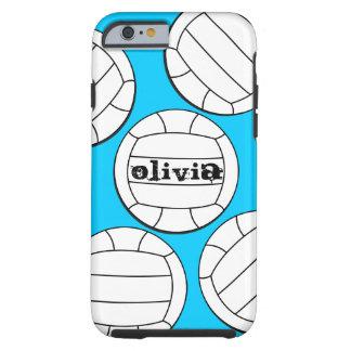 Caso do iPhone 6 do voleibol Capa Tough Para iPhone 6