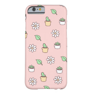 Caso do iPhone 6s do Hoe da planta Capa Barely There Para iPhone 6
