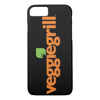 Caso do iPhone 7 da grade do vegetariano (preto) Capa iPhone 7