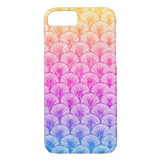 Caso do iPhone 7 da sereia do arco-íris Capa iPhone 8/ 7