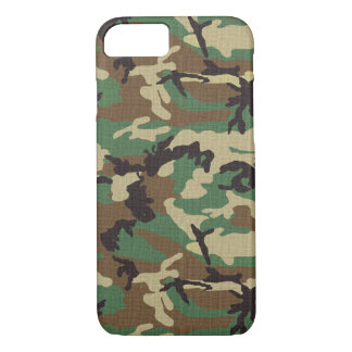 Caso do iPhone 7 de Camo do exército da floresta Capa iPhone 7