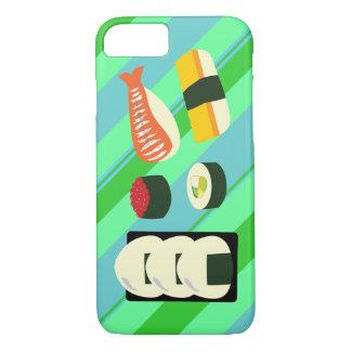 Caso do iPhone 7 do divertimento do sushi Capa iPhone 7