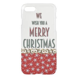 Caso do iPhone 7 do Feliz Natal Capa iPhone 7