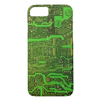 caso do iPhone 7 do teste padrão do microchip do Capa iPhone 7