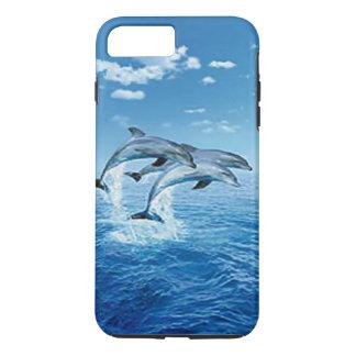 Caso do iPhone 7 dos golfinhos Capa iPhone 7 Plus