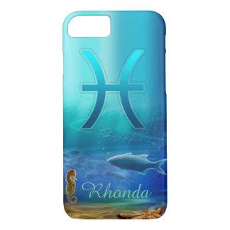 Caso do iPhone 7 dos peixes Capa iPhone 8/ 7