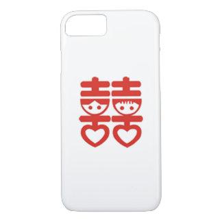 caso do iPhone 7 para o Newlywed chinês Capa iPhone 7