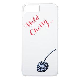 Caso do iphone da cereja selvagem mal lá capa iPhone 7 plus