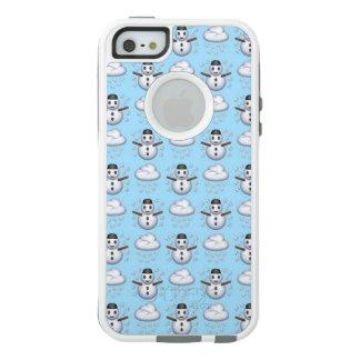 Caso do iPhone SE/5/5s Otterbox de Emoji do boneco