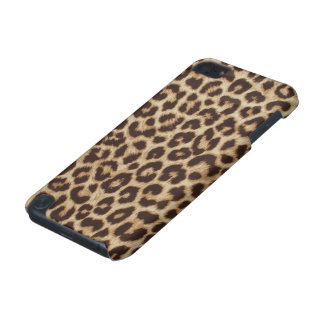 Caso do ipod touch 5G do impressão do leopardo Capa Para iPod Touch 5G