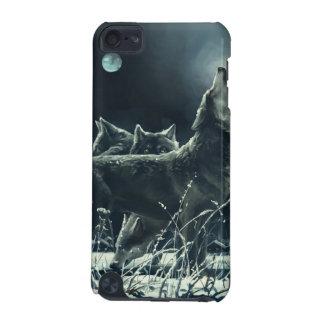 Caso do ipod touch 5G dos lobos do inverno Capa Para iPod Touch 5G