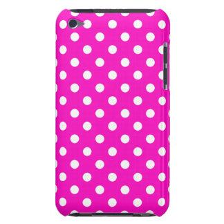 Caso do ipod touch G4 das bolinhas do rosa Capa Para iPod Touch