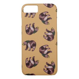 Caso do lance do urso capa iPhone 7