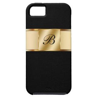 caso do monograma do iPhone 5 Capa Para iPhone 5