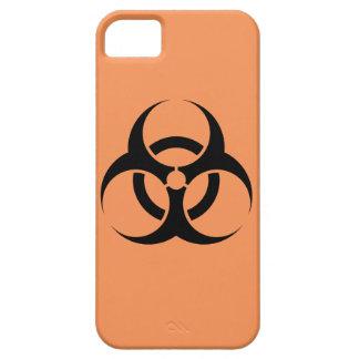 Caso do sinal do Biohazard Capa Barely There Para iPhone 5