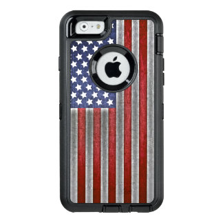 caso do telemóvel da bandeira americana do iPhone