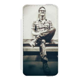 caso do telemóvel da carteira dos diários do capa carteira incipio watson™ para iPhone 5