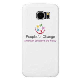 Caso do telemóvel de Gallaxay 6 com as pessoas Capa Para Samsung Galaxy S6