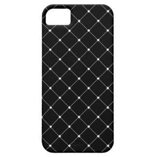 Caso do telemóvel do teste padrão do diamante capa para iPhone 5
