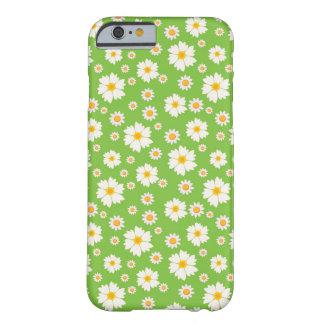 caso do teste padrão de flor da margarida do capa barely there para iPhone 6