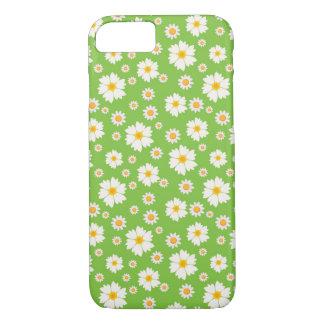 caso do teste padrão de flor da margarida do capa iPhone 7