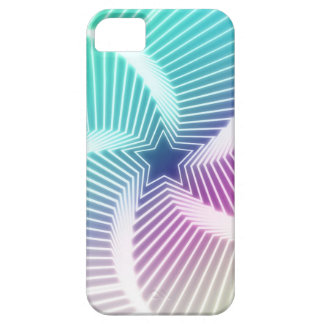 Caso do teste padrão de radiação da estrela capa para iPhone 5
