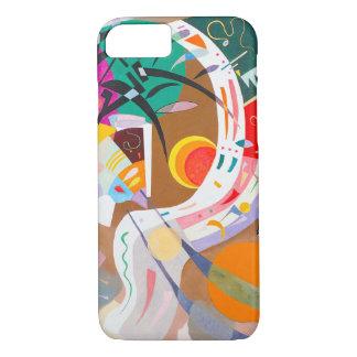 Caso dominante do iPhone 7 da curva de Kandinsky Capa iPhone 7