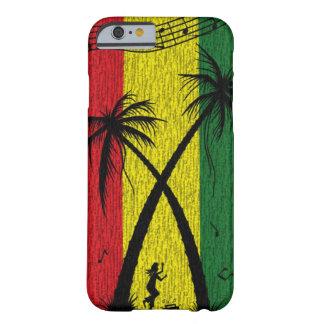 Caso duro do iPhone 6 do caso da reggae Capa Barely There Para iPhone 6