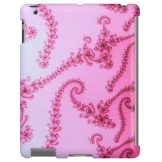 Caso elegante do iPad das videiras do Fractal Capa Para iPad