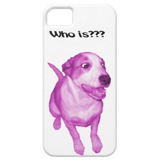 Caso engraçado, cão engraçado capa barely there para iPhone 5
