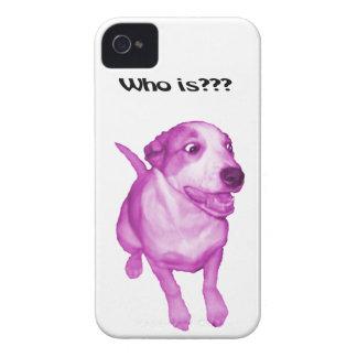 Caso engraçado, cão engraçado capas para iPhone 4 Case-Mate