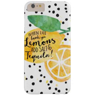Caso engraçado da vida, dos limões, do sal, & do capa barely there para iPhone 6 plus