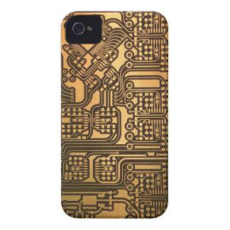 Caso engraçado do conselho de circuito capas para iPhone 4 Case-Mate
