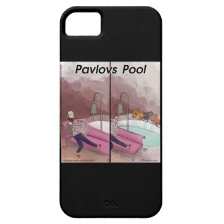 Caso engraçado do iPhone 5 da psicologia da Capa Para iPhone 5