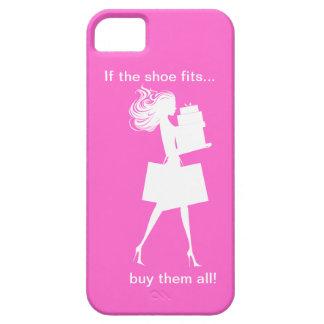 Caso engraçado do iPhone 5 das senhoras Capa Barely There Para iPhone 5