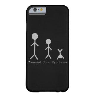 Caso engraçado do iPhone 6 da síndrome da criança Capa Barely There Para iPhone 6