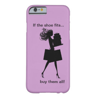 Caso engraçado do iPhone 6 das senhoras Capa Barely There Para iPhone 6