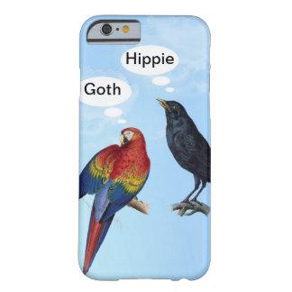 Caso engraçado do iPhone 6 do Hippie do gótico Capa Barely There Para iPhone 6