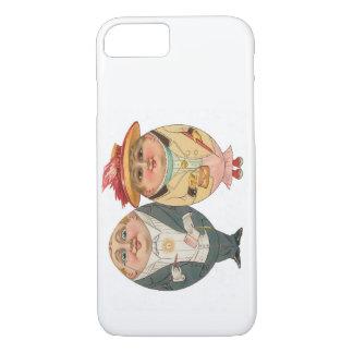 Caso engraçado do iPhone 7 do vintage - casal do Capa iPhone 7