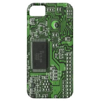 Caso engraçado v2 do conselho de circuito capa para iPhone 5
