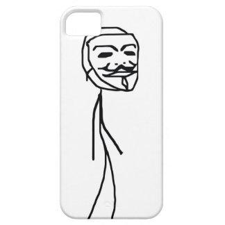 Caso épico do iPhone 5 da cara da falha Capa Barely There Para iPhone 5