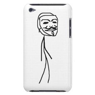 Caso épico do ipod touch 4 da cara da falha capa para iPod touch