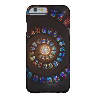 Caso espiral do iPhone 6/6s do vitral Capa Barely There Para iPhone 6