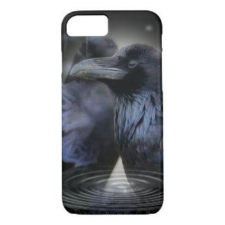 Caso extravagante do iPhone 7 do corvo Capa iPhone 7