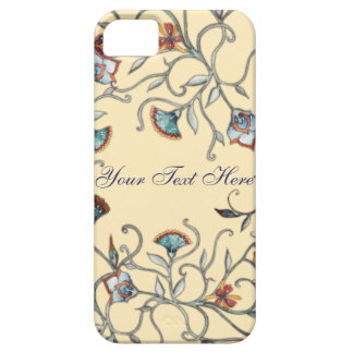Caso floral abstrato do iPhone 5 Capa Barely There Para iPhone 5