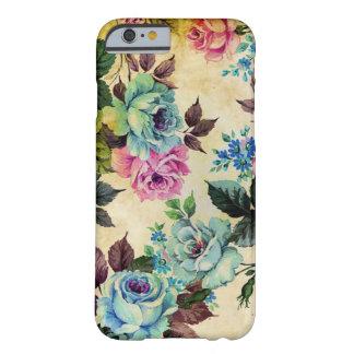 Caso floral antigo do iPhone 6 Capa Barely There Para iPhone 6