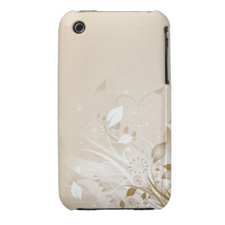 Caso floral do blackberry curve do design do capa para iPhone 3