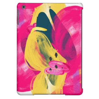 Caso floral do iPad da aguarela pintado à mão Capa Para iPad Air
